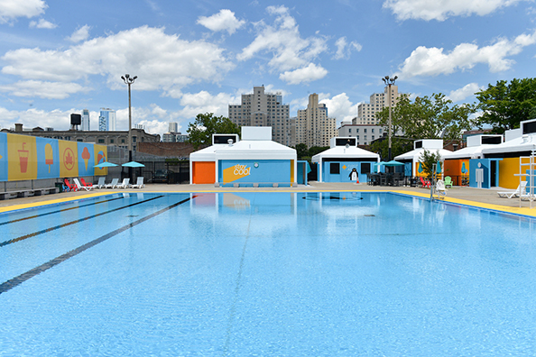 Cool Pools in NYC this summer