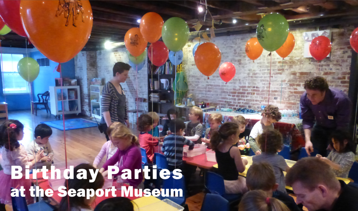 "New Themed Birthday Parties at the South Street Seaport Museum Based on the Popular Books ""Little Tug"" and ""Pout-Pout Fish"""