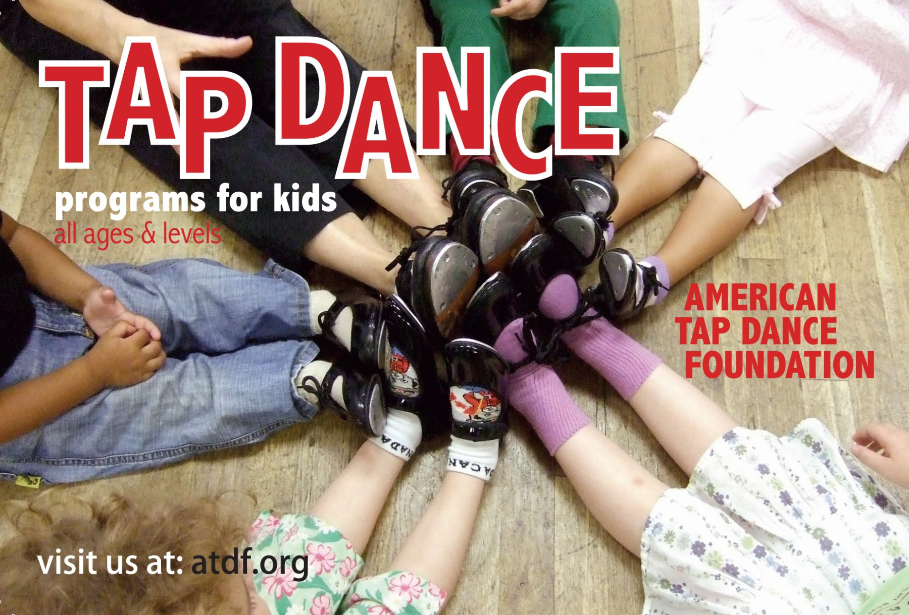 American Tap Dance Foundation Youth Programs for Children and Teens