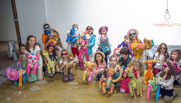 Creatively Wild Art Studio: Birthday Parties or Special Events!