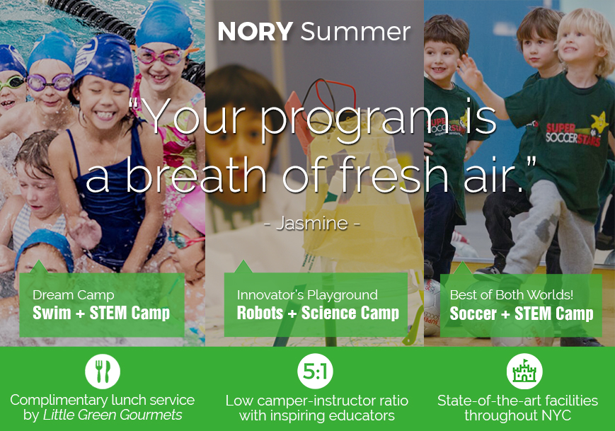 NORY Summer Camp Offerings