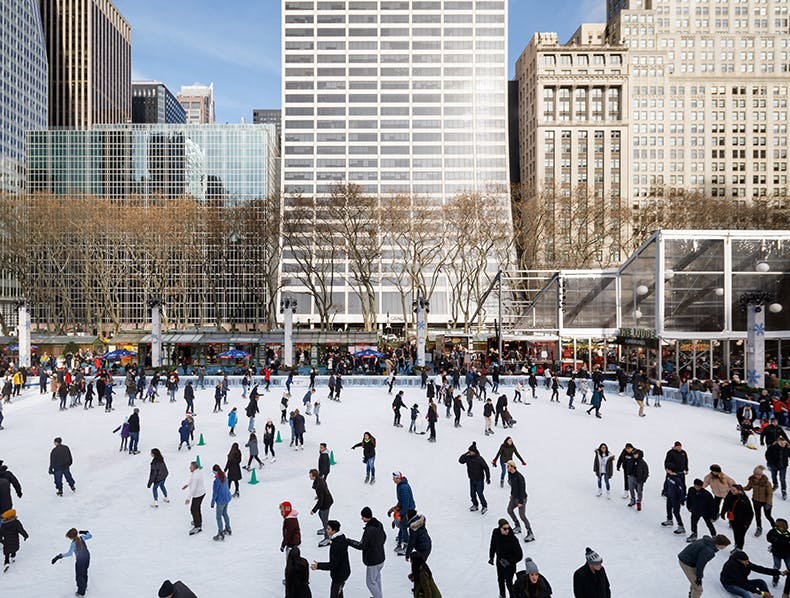 Reserve Your Skate Time in Advance at The Rink, Bryant Park