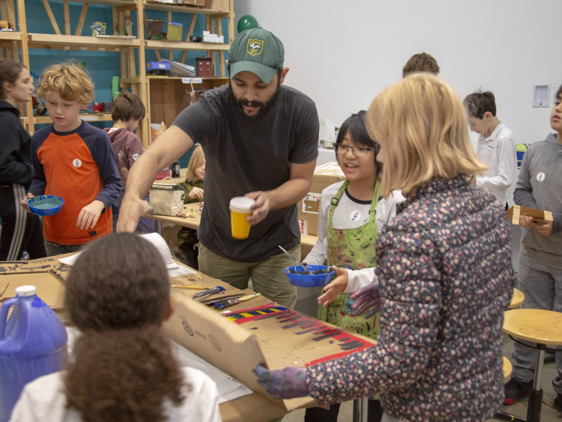 Spend the Summer with Children's Museum of the Arts