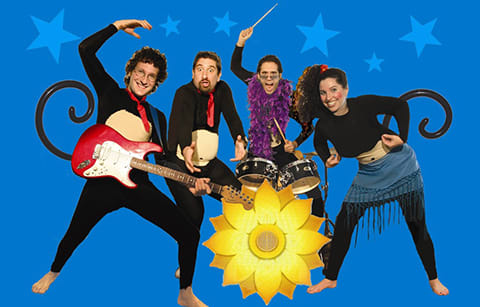 The Jewish Museum Kicks Off Fall 2019 Family Concerts With the FunkeyMonkeys on Sunday, September 22