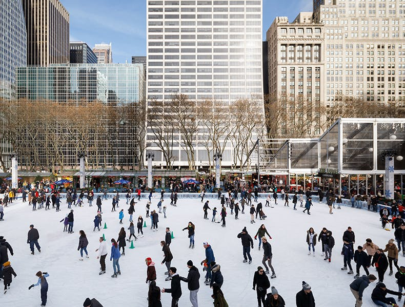 New Skating Reservation Times Released Through December 15 at Bryant Park