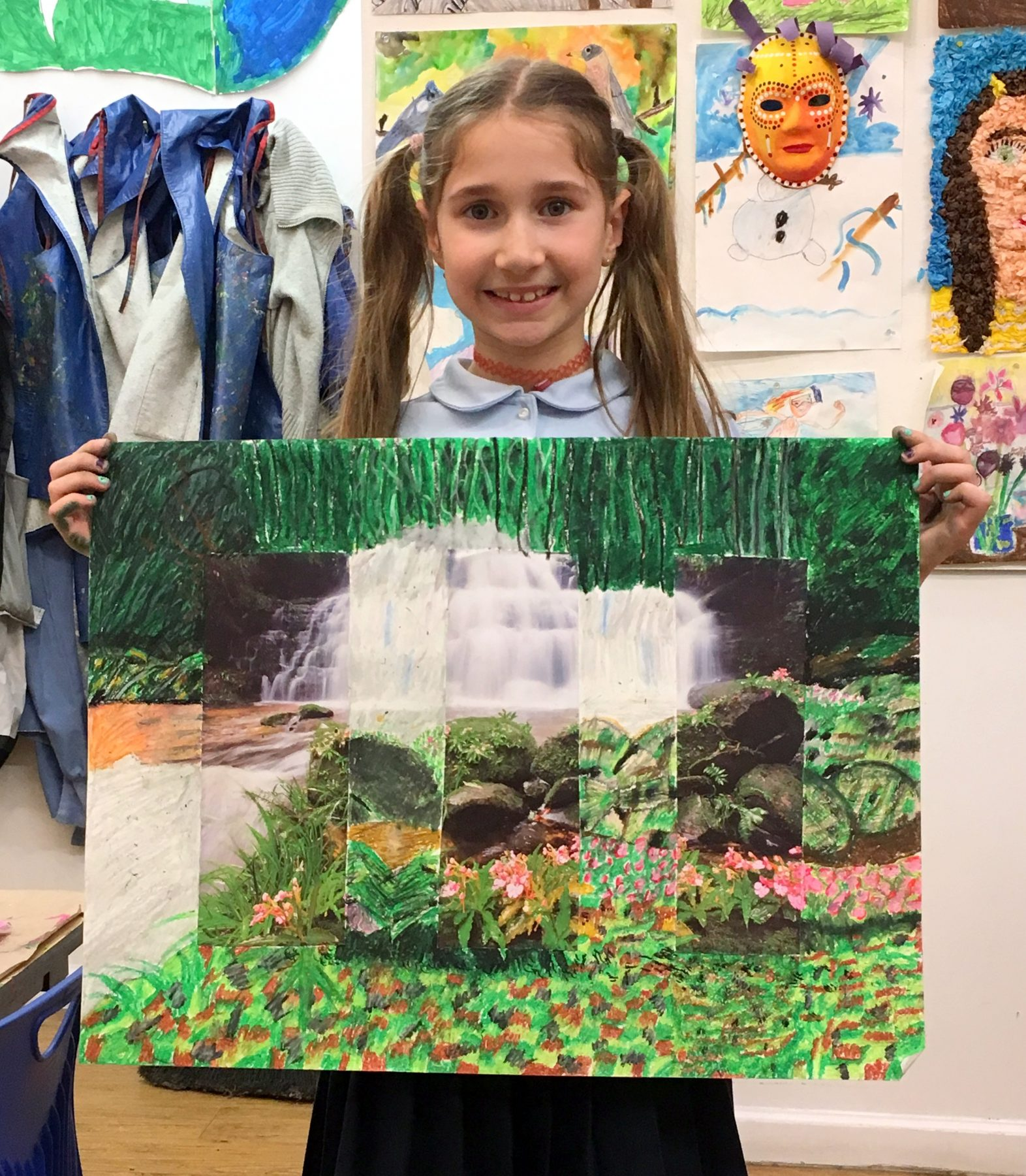 Kids At Art Mini-Camp Art Workshops