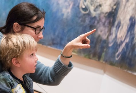 A closer look for kids at moma nyc