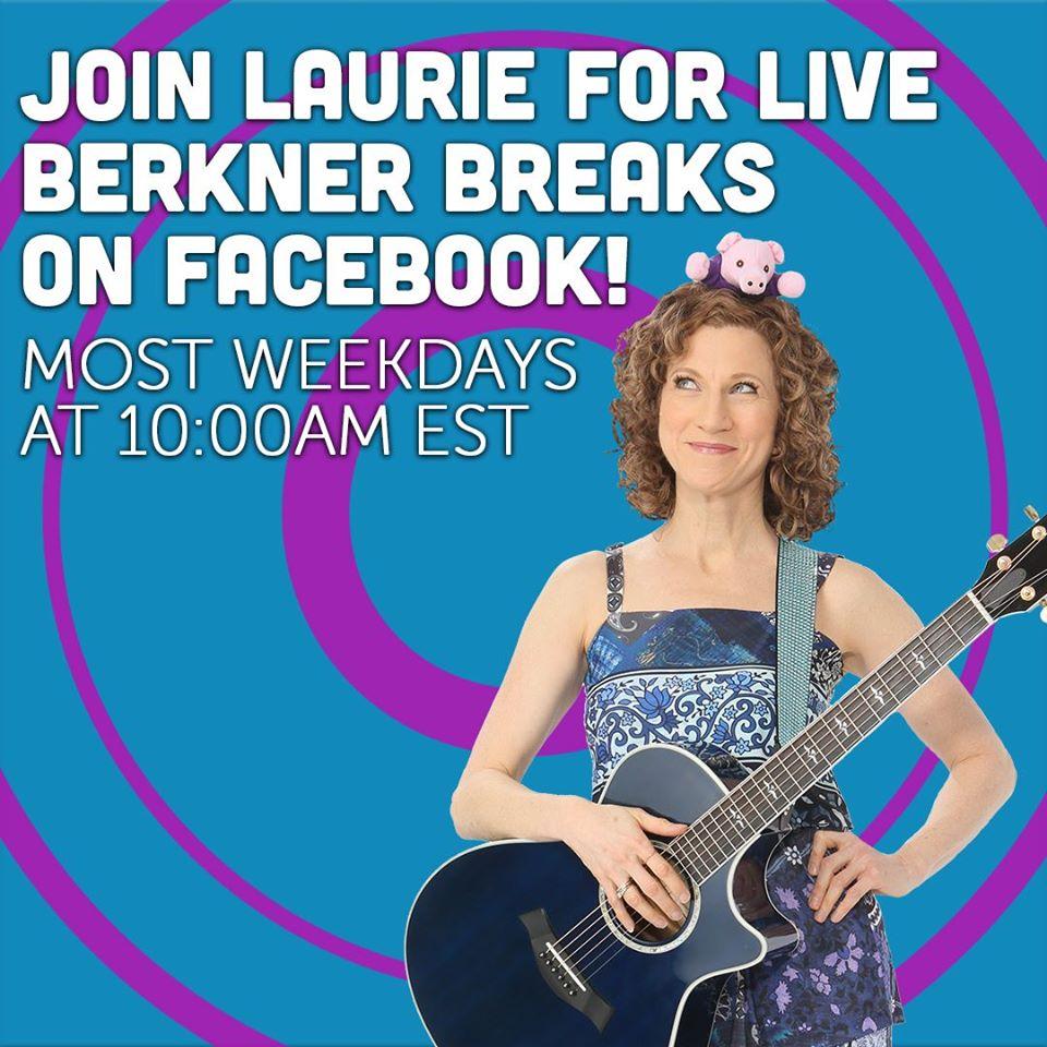 Laurie Berkner live on Facebook