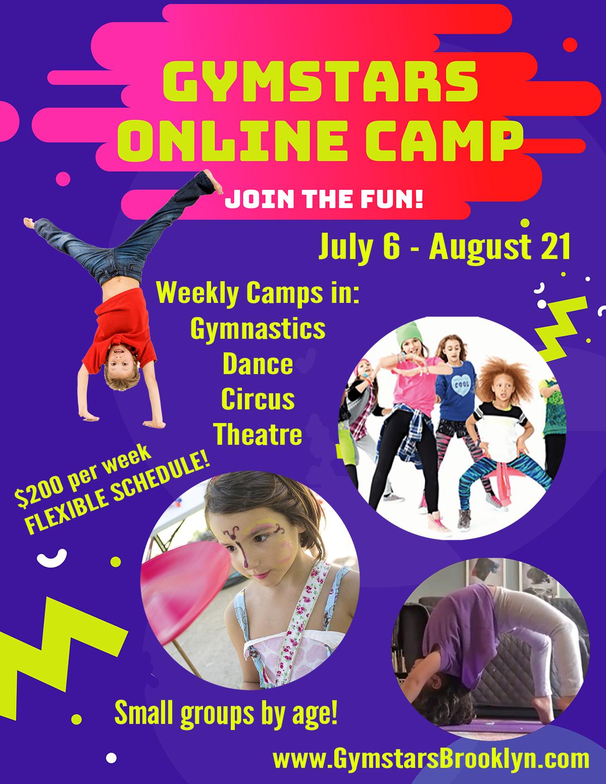 Gymstars Virtual Summer!