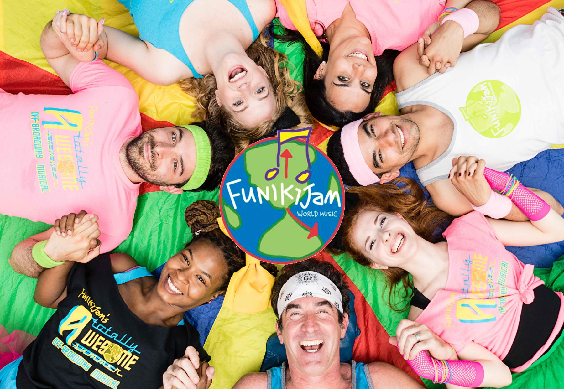 Join FunikiJam Music LIVE Online