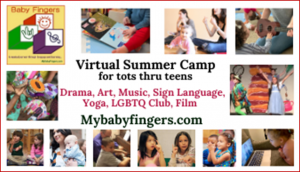 Virtual Summer Camp with Baby Fingers
