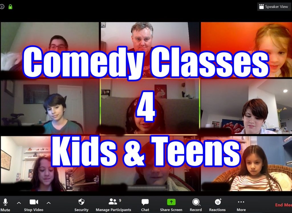 Online Comedy / Theater Arts Camp by Improv 4 Kids