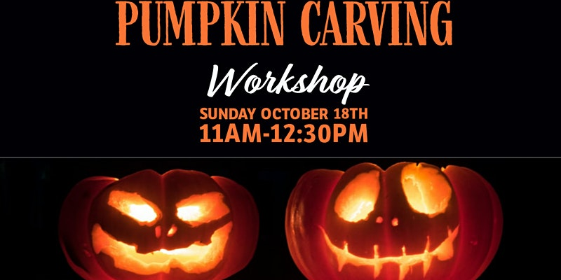 Pumpkin Carving Workshop for Families!