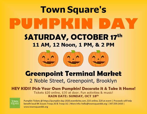Town Square's Pumpkin Day
