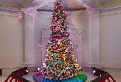 The Origami Holiday Tree