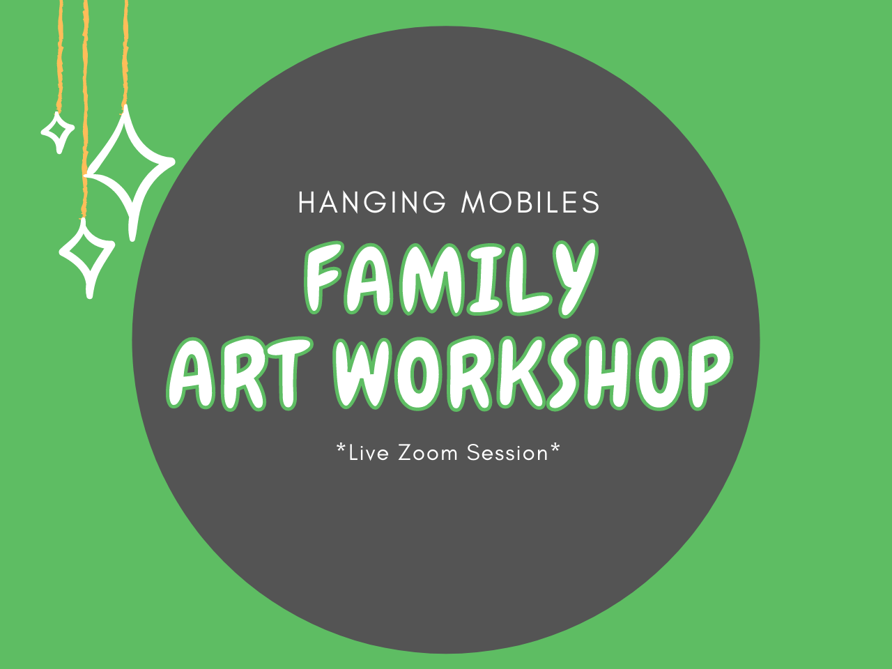 Family Art Workshop: Hanging Mobiles
