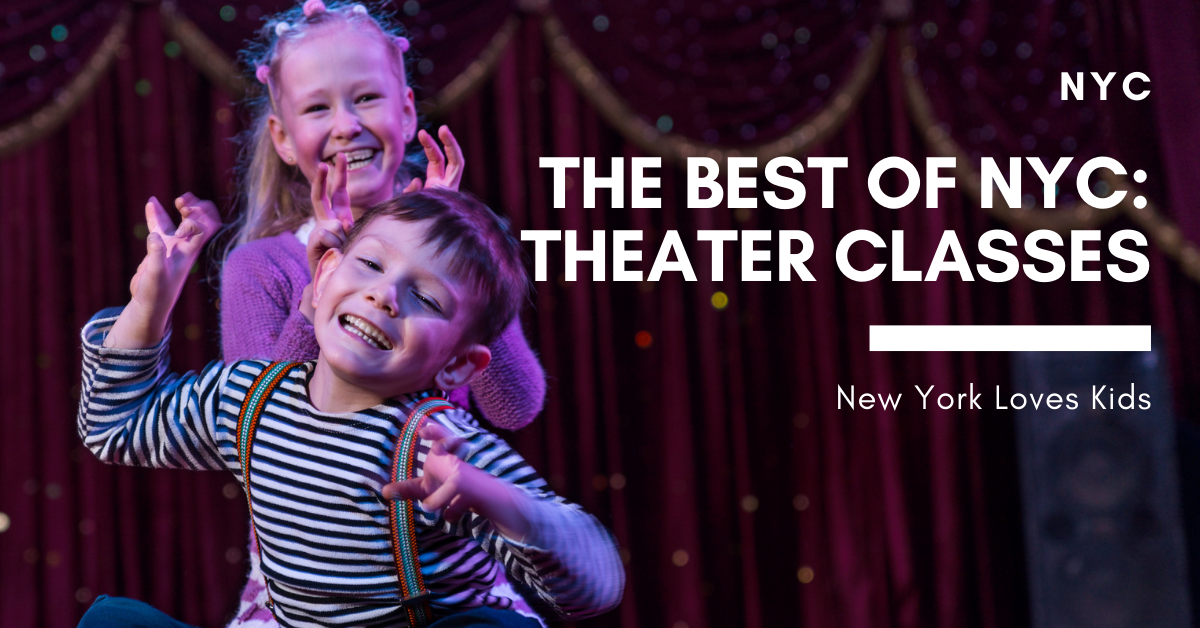 The Best of NYC: Theater Classes for Kids