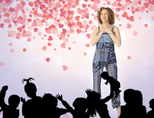 Share the Love With Legendary Kids' Musician Laurie Berkner at Two Valentine's Day Party Family Concerts