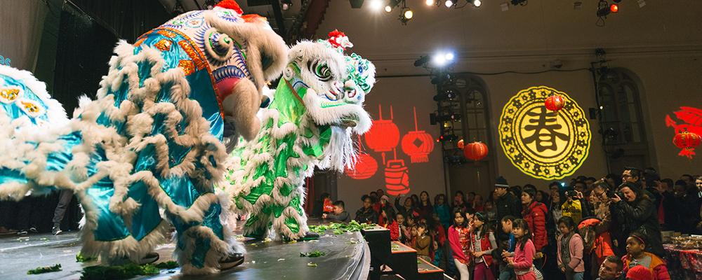 Lunar New Year Chinese Temple Bazaar