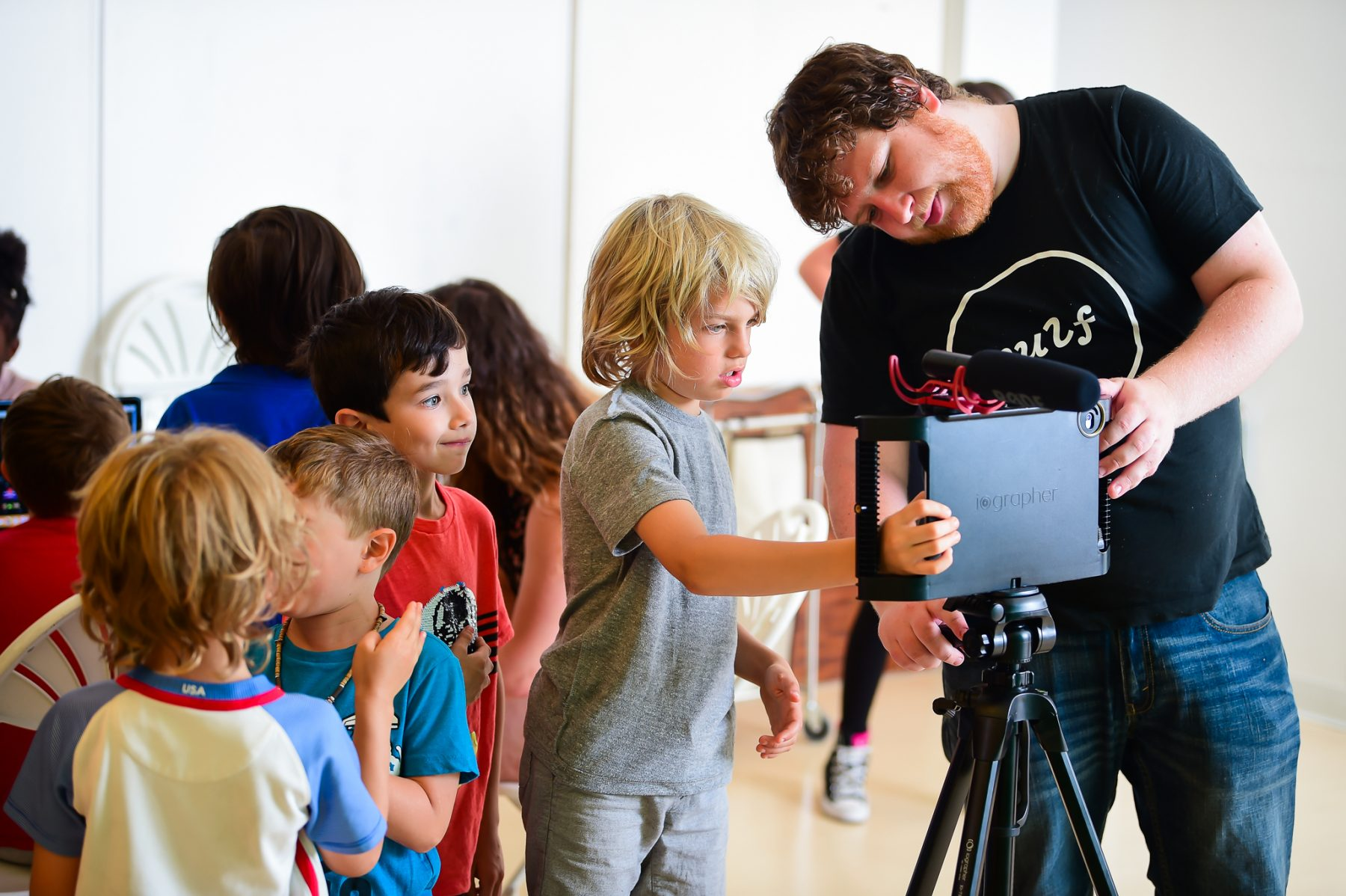 Film, Animation and Media S.T.E.A.M. Summer Camps