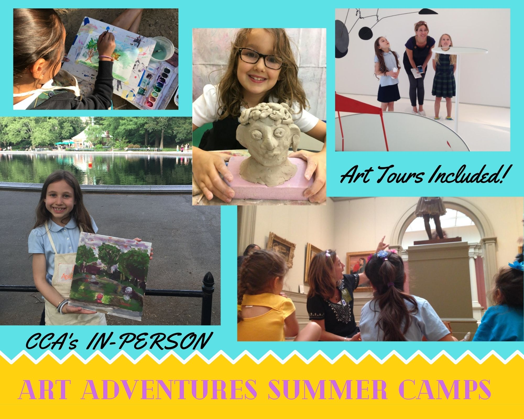 Claire's Creative Adventures In-Person Summer Camps