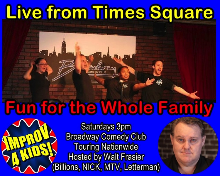 Improv 4 Kids returns to Times Square