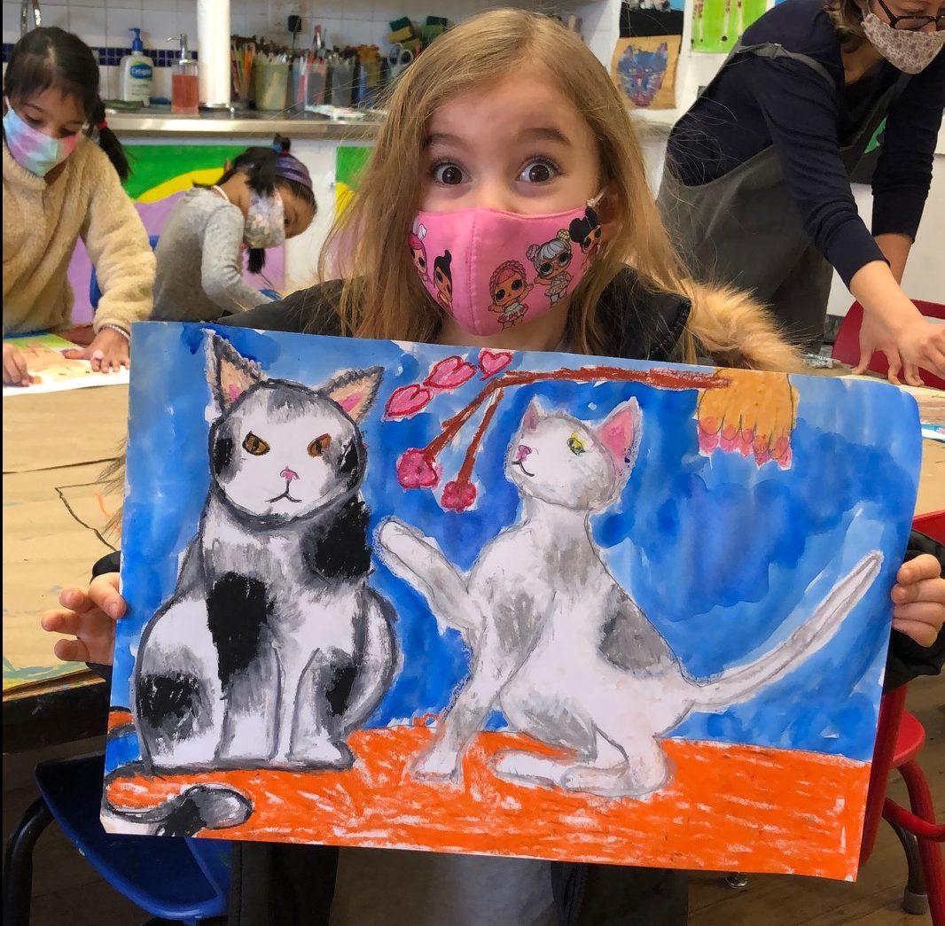Kids at Art NYC