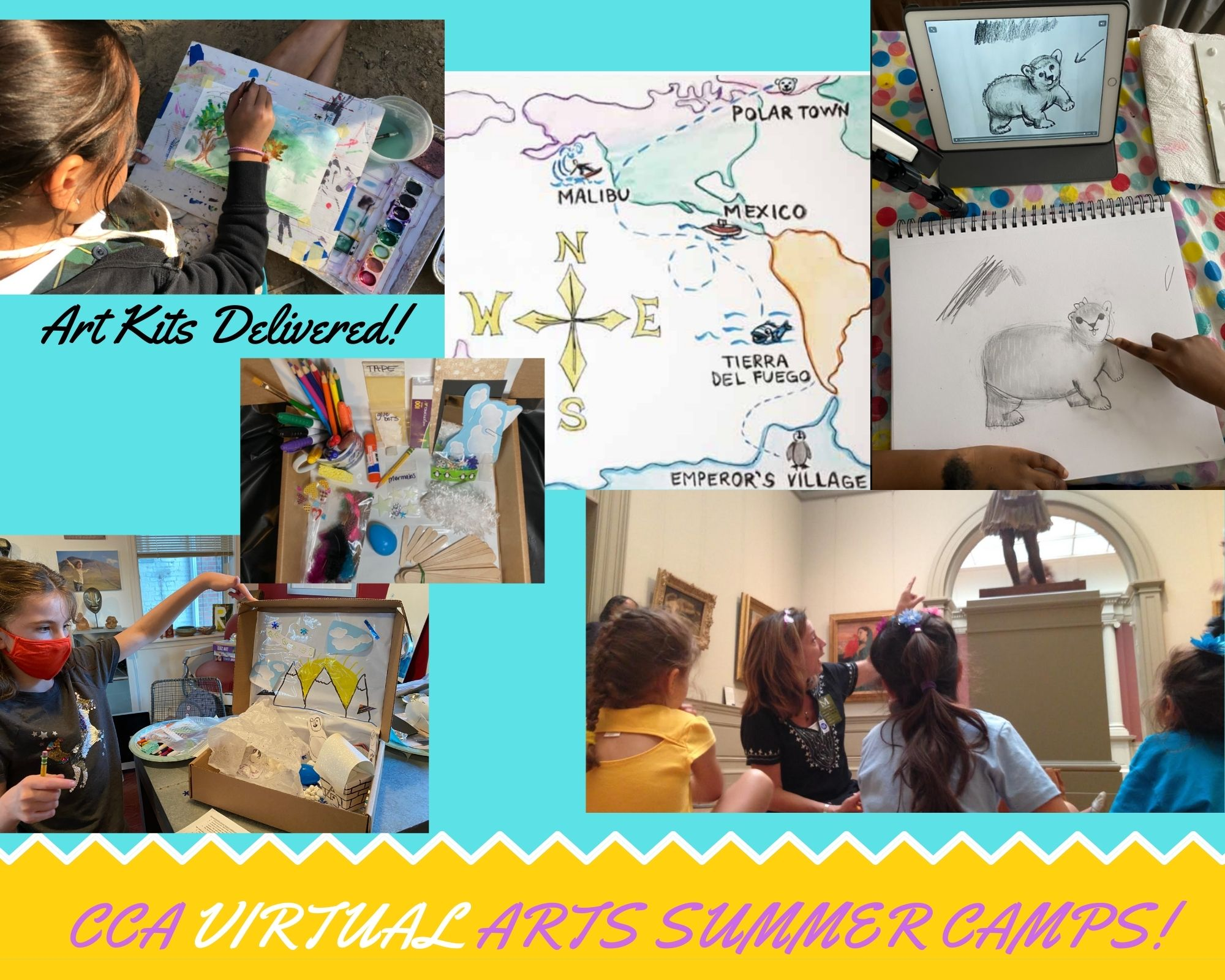 Claire's Creative Adventures Virtual Summer Camps NYC