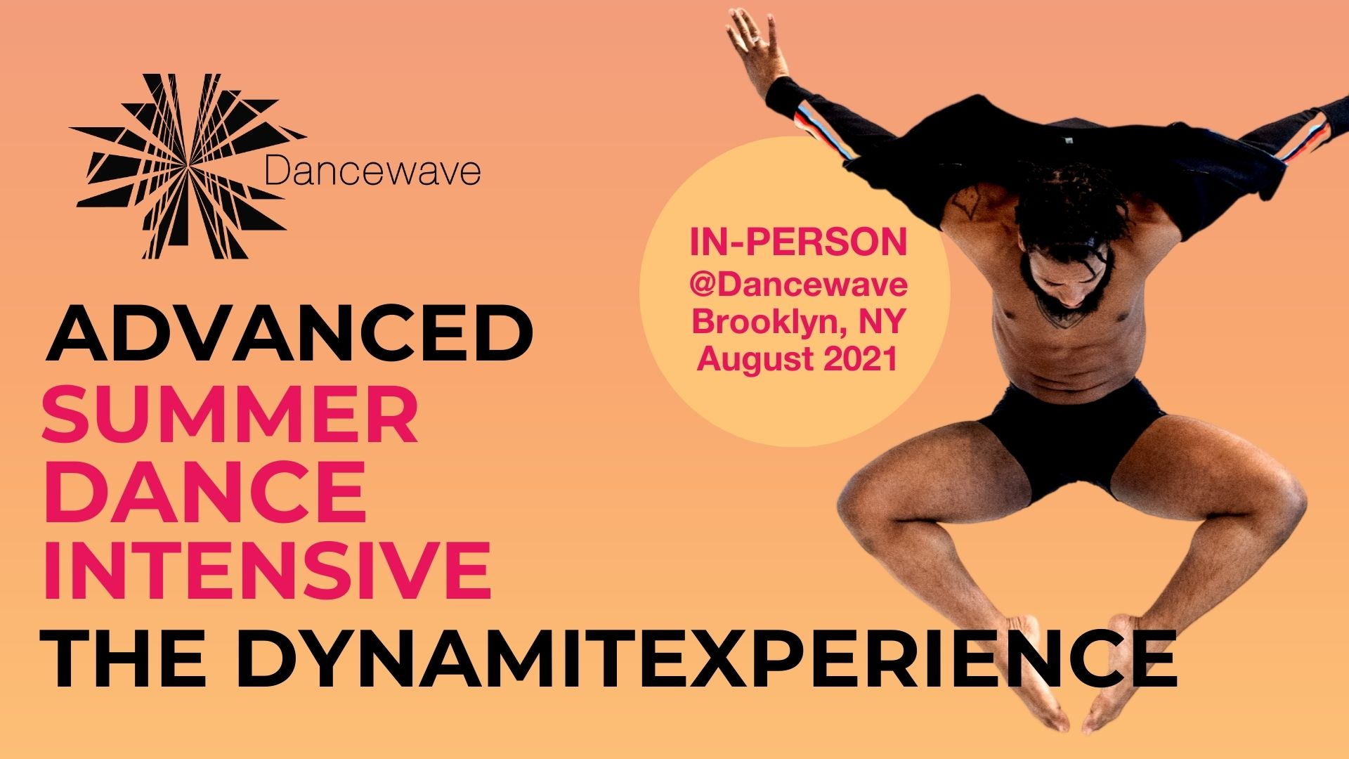 Audition Alert: Dancewave IN-PERSON Summer Dance Intensive: Advanced Repertory with The DynamitExperience