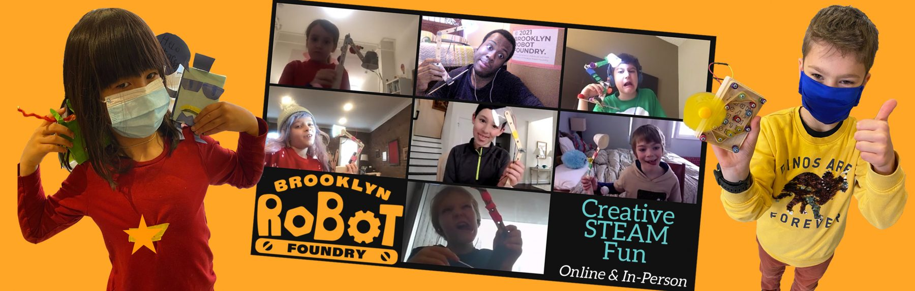 Brooklyn Robot Foundry Summer Camps