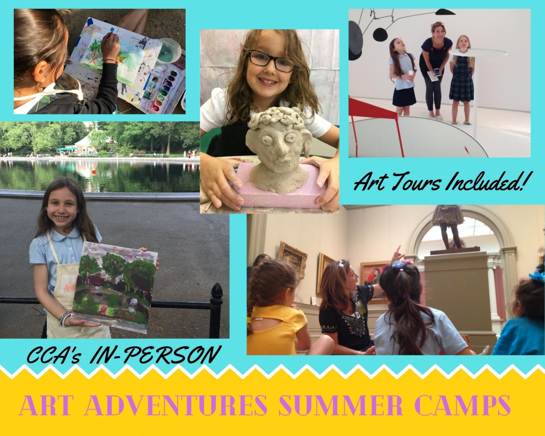 Claire's Creative Adventures NYC Classes Camps and Parties