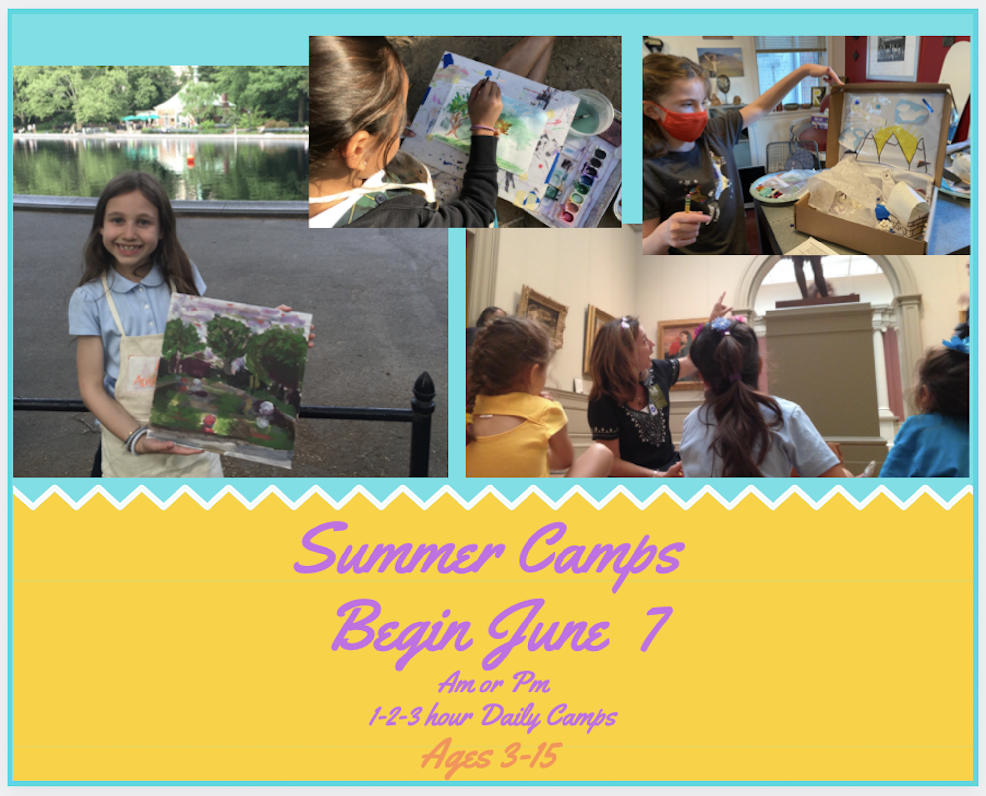 Art Adventures Camps with Claire's Creative Adventures