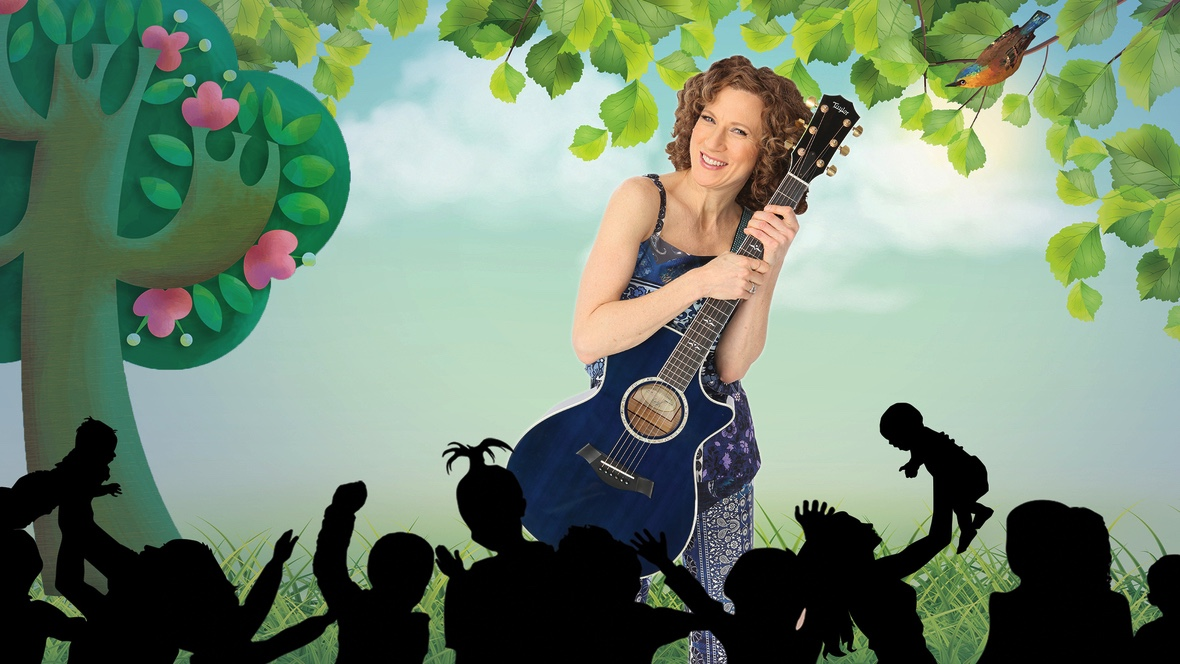 A Laurie Berkner Virtual Family Concert on Father's Day!