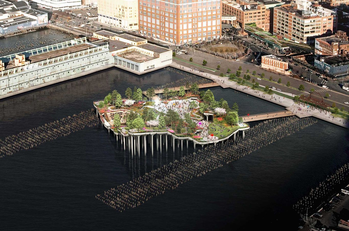 Little Island Opens Today to New Yorkers