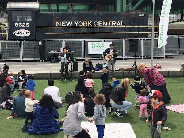Summer on the Hudson: Locomotive Lawn Live! on the hudson