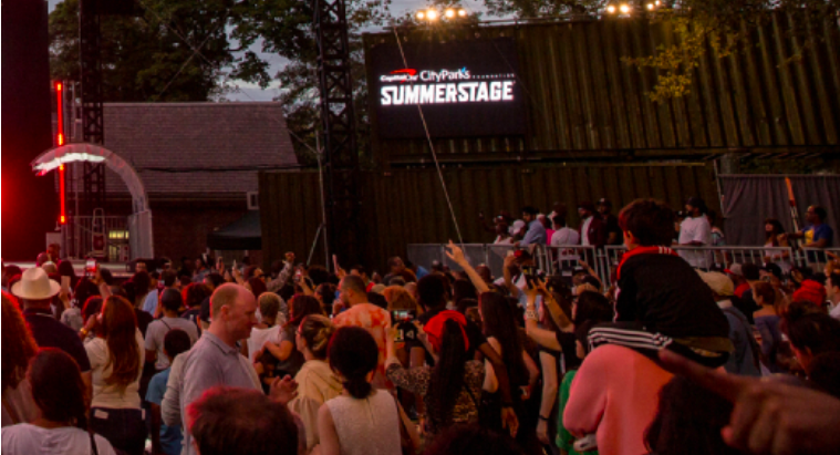 SummerStage is Back in NYC Parks this Summer