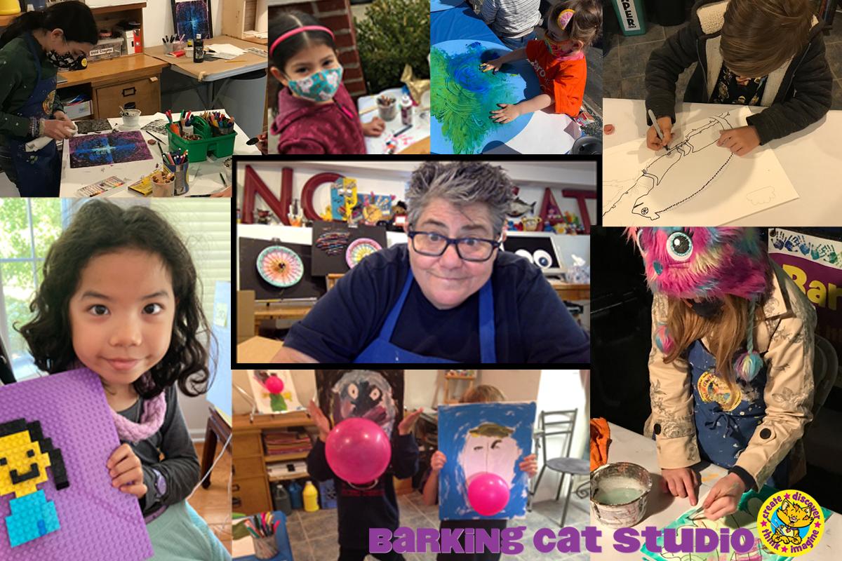 Barking Cat Studio Art Classes for Kids