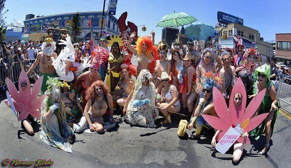 The Mermaid Parade Coney Island