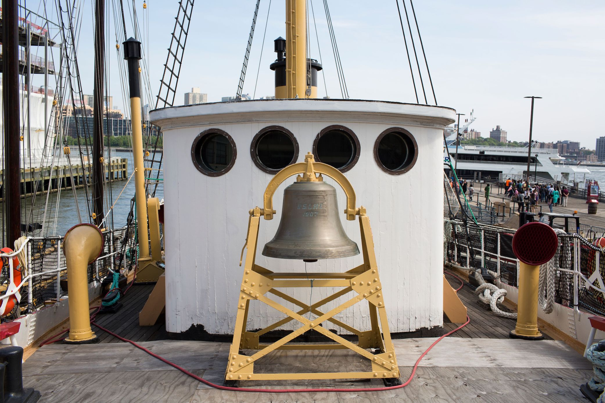 South Street Seaport Museum Free Tours of Lightship Ambrose