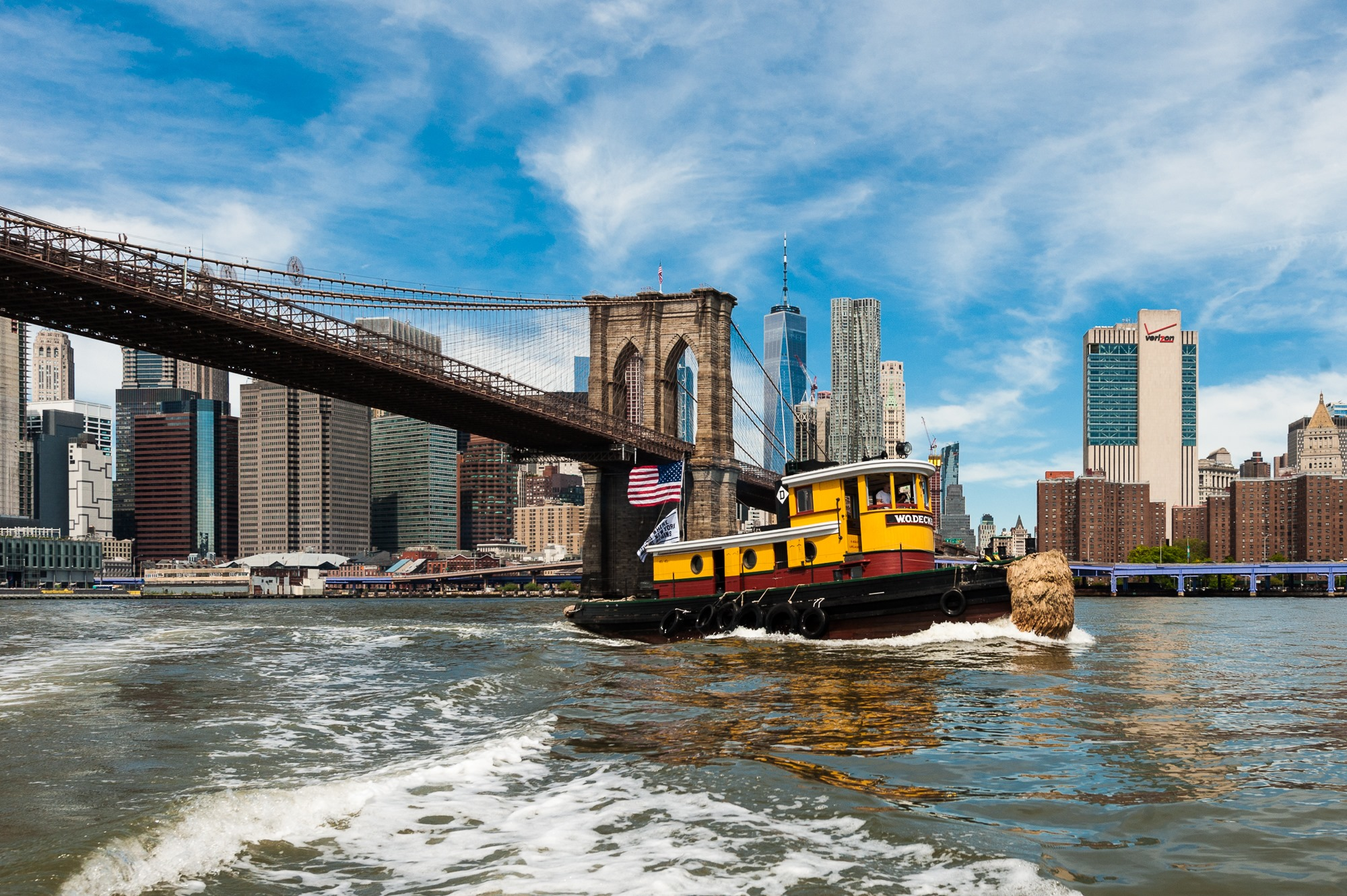 South Street Seaport Museum Tugboat Rides on W.O. Decker