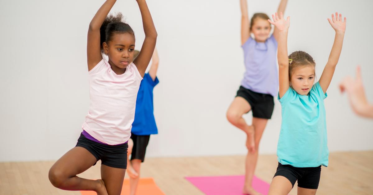 Bend + Bloom Kids Yoga Classes
