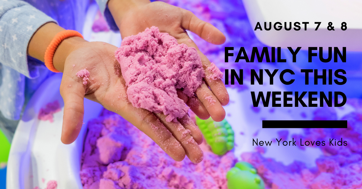 What's on for kids this weekend in NYC