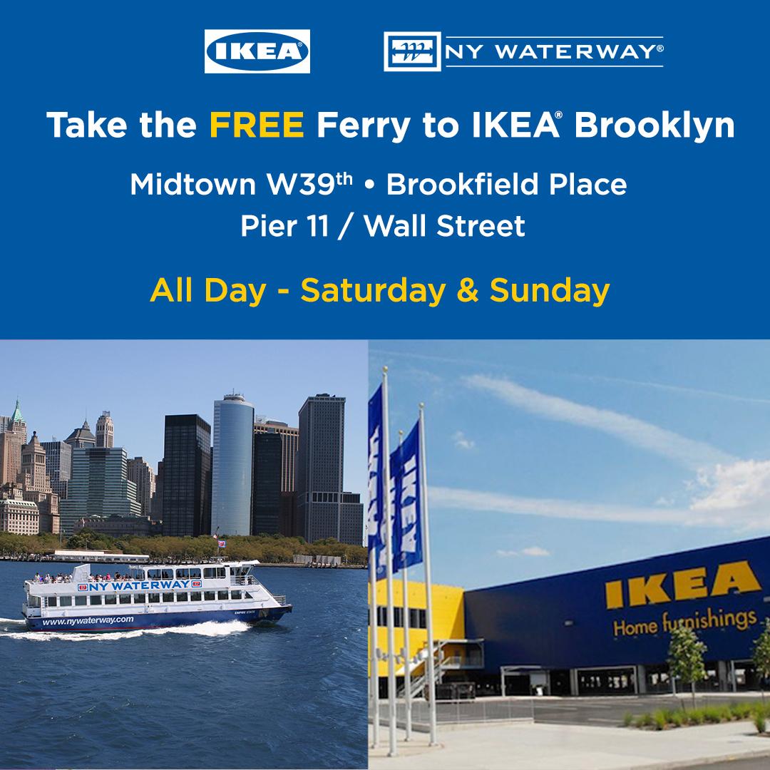 Free Ikea Brooklyn Ferry
