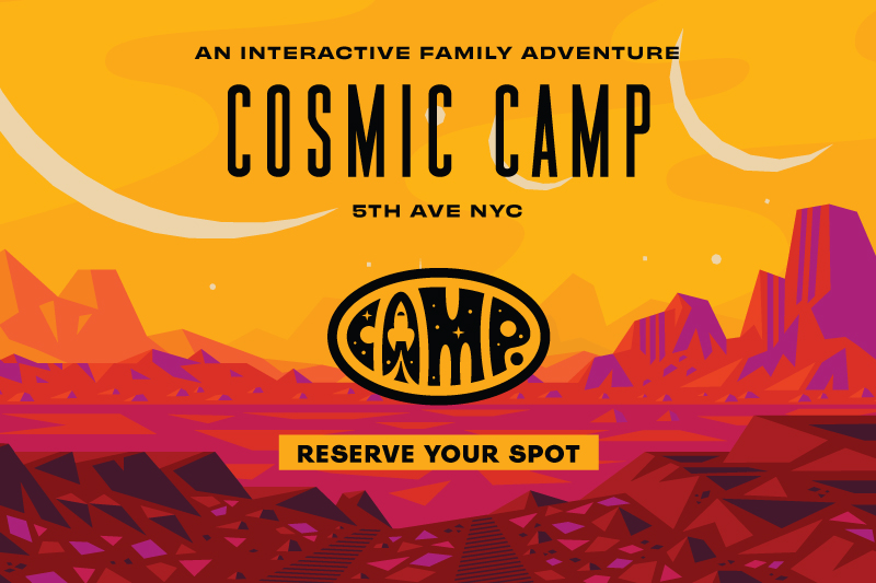 Blast Off With Cosmic CAMP - An Intergalactic Family Adventure
