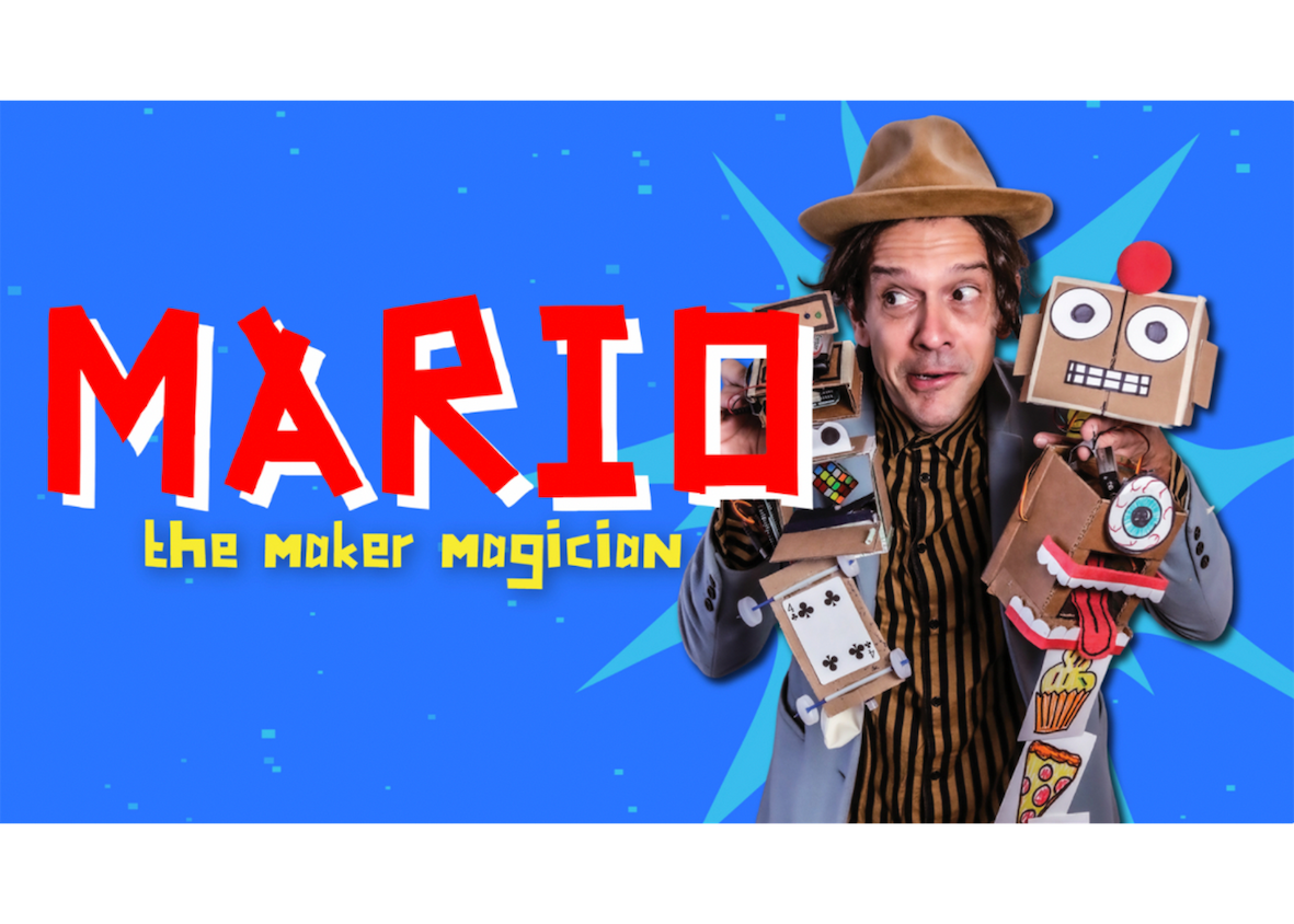 Magic Show with Mario the Maker Magician