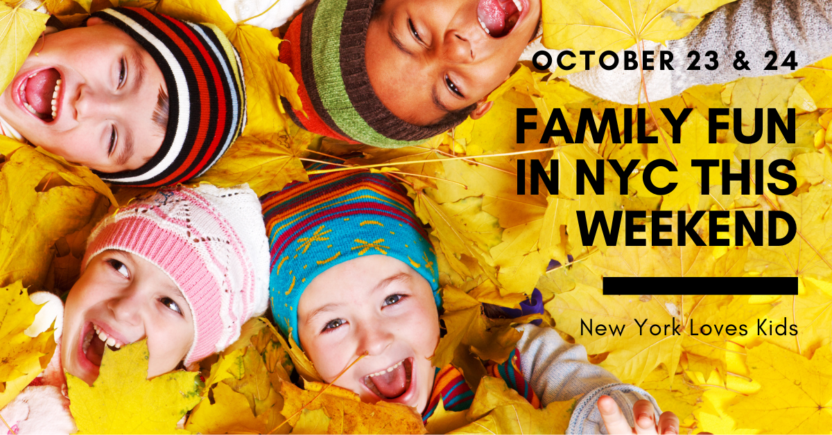 whats on for kids this weekend in nyc