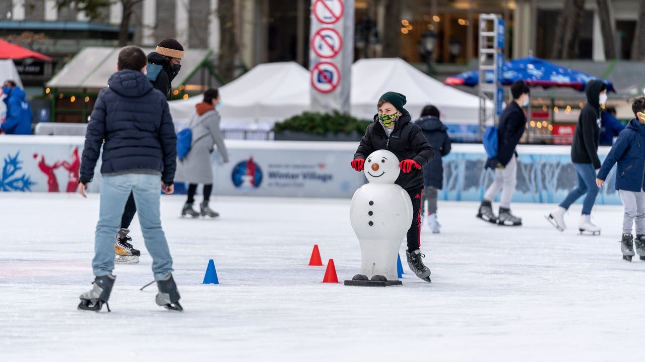 Skating Reservations Now Open at the Bank of America Winter Village at Bryant Park Ice Rink